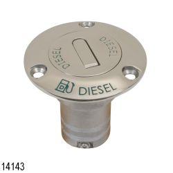 1-1/2IN DIESEL DECKFILL S.S. 316ED