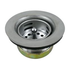 JR SINK STRAINER  2IN  NO TAIL PC.