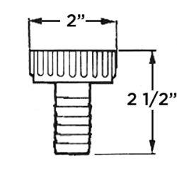 "1-1/4"" to 3/4"" or 1"" Adapter"