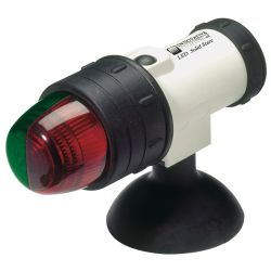 LED BOW LIGHT WHT W/ SUCTION CUP