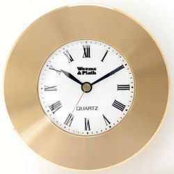 BRASS CHART WEIGHT CLOCK