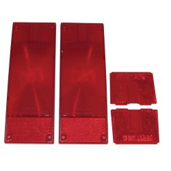 Replacemnt Tail Light Lens Set