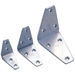 SATIN STAINLESS ANGLE BRACKET