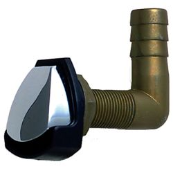CHR ZINC GAS TANK VENT W/SWIVEL ELBOW