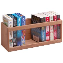 PAPERBOOK RACK OR VHS CASSETTE RACK