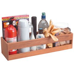 UTILITY SHELF, 5INX21INX6-3/4IN, TEAK