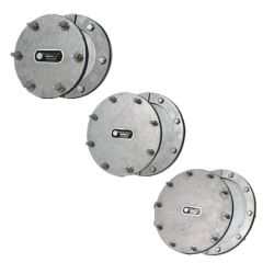 6IN S.S. TANK ACCESS PLATE SYSTEM