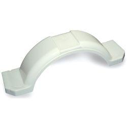 WHT PLASTIC FENDER 11-3/8X45X11IN