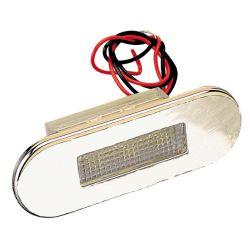 S.S. LED COURTESY LIGHT WHITE LENS