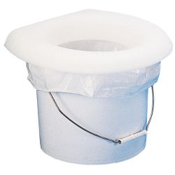 BUCKET POTTY SEAT FOR TOILET