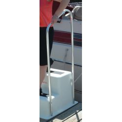 StepSafe™ Dock Step Optional Hand Rail