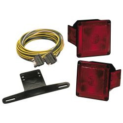 ECONOMY TAIL LAMP LIGHT KIT W/WIRE