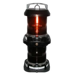 Aqua Signal Series 70 Double Lens Commercial Navigation Light - All-round, Red
