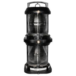Series 70 Double Lens Commercial Navigation Light - Stern, Yellow
