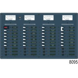 DC 6 Position Circuit Breaker Panel