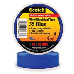 3/4IN BLU VYL ELECTRICAL TAPE #35 (66FT)
