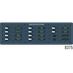 DC 13 Position Circuit Breaker Panel
