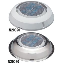 3IN SS SOLAR MINI VENT