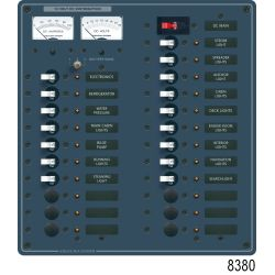 DC Main + 32 Position Circuit Breaker Panel