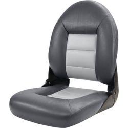 High Back NaviStyle Boat Seat - Charcoal/Gray