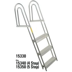 Anodized Aluminum Dock/Raft Ladder