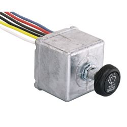 HEAVY DUTY WIPER SWITCH 1 WIPER 12V