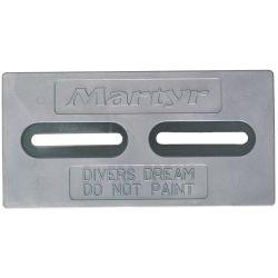 ZINC DIVERS DREAM PLATE 1/2IN SLOT