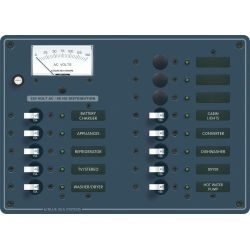 120V A SERIES PANEL 13 POS VOLT