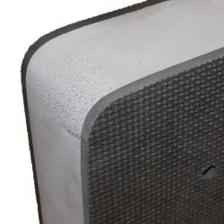 MODULAR FLAT FENDER 20X8X2IN GRAY