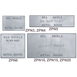ZNC PLATE 3X6X1/2IN
