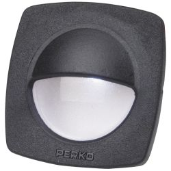 BLK UTILITY LIGHT LED W/PIGTAIL
