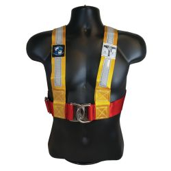 SAILING HARNESS MEDIUM YELLOW/RED