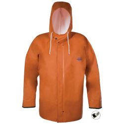 HOODED F/W JACKET ORANGE W/CUFF XL
