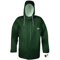 HOODED F/W JACKET GREEN XLG W/CUFF