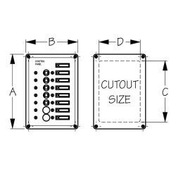 AC⁄DC Accessory Panel 7 Circuit