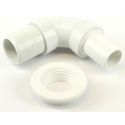 """1-1/2"""" Inlet Elbow with Uniseal"""