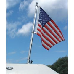 1IN SS FLAG POLE KIT 48INH