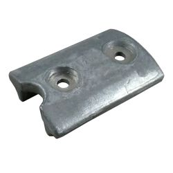ZINC OMC J/E CURVED BLOCK OUTDRIVE ANODE