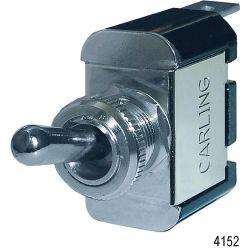 WeatherDeck Toggle Switch, Single - OFF-(ON)