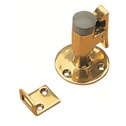 BRASS BRASS DOOR STOP & CATCH
