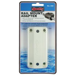 RAIL ADAPTOR 7/8IN-1IN ROUND & SQUARE