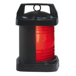 24/120/220V 3NM BLK SGL SIDELIGHT RED