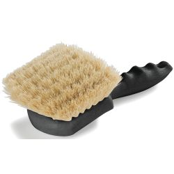 POLY8IN PLASTC HANDLE GONGBRUSH