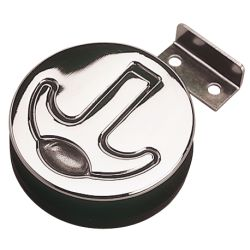 STAINLESS ROUND T HANDLE LATCH
