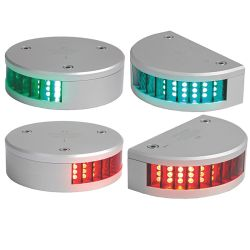 3 NM LED Sidelights - for Vessels from 39.4 ft to 65.6 ft