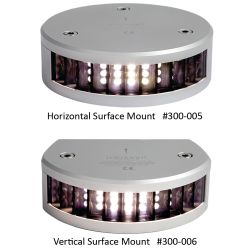 2 NM LED Stern Navigation Lights for ALL Vessels Up to 164 Ft in Length