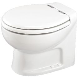 12v Tecma Silence Plus Toilet  -  Household Size Bowl