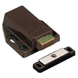 Magnetic Touch Latch, Long Stroke - Brown