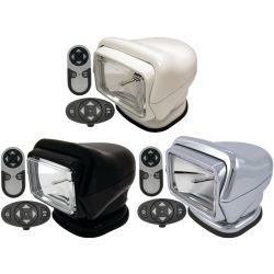 """7"""" Stryker Searchlight - Wireless Dash Mount & Handheld Remote Controllers"""