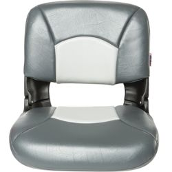 ALL WEATHER HI BACK SEAT CHARCOAL